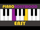 Saiyaara [Ek Tha Tiger] - Easy PIANO TUTORIAL - Stanza [Both Hands Slow]
