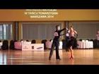 Mistrzostwa Polski 2014 PZTS Junior II LATIN Rumba Nowacki Molenda Tajak Sztuce