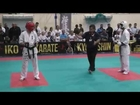 Gym Fist and Kick-IKO Kyokushinkai Karate IKO Galizia Cup 2014 Finale 16-17J -65kg Tugkan