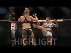 Highlights: Holly Holm vs. Marion Reneau