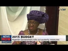 2015 Budget: Nigerian Government rolls out austerity measures