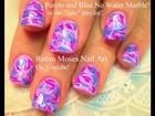 No Water Needed - DIY Marble nail art Tutorial