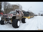 Auto-ongelukken in Rusland winter/Car Crash Compilation 2014 winter 19