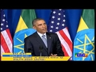 President Obama And PM Hailemariam Desalegn Joint Press Conference