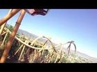 TATSU Front Row POV Six Flags Magic Mountain