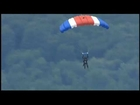VIDEO: George HW Bush Makes Parachute Jump at 90 Years Old