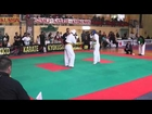 Gym Fist and Kick-IKO Kyokushinkai Karate IKO Galizia Cup 2014 Halbfinale 16-17J -75kg Muhammed