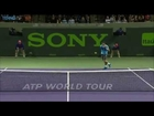 Hot Shot: Raonic Makes Snap Decisions Against Nadal In Miami QFs