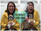 ALS Ice Bucket Challenge - Gina Naomi Baez and Tinkerbelle the Dog