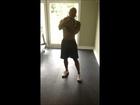 LEG WORKOUT USING JACK SQUATS AND MEDICINE BALL