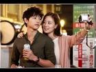 Song Joong Ki and Koon Chae Won in Running Man