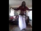 Belly dance abs workout