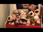 100 year old Italian hospital treats clumsy dolls