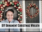 DIY Ornament Christmas Wreath | VLOGMAS