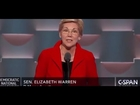 Elizabeth Warren Democratic National Convention FULL Speech 7/25/16 DNC