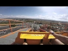 GoPro Roller Coaster at Six Flags : The Chipmunk Effect
