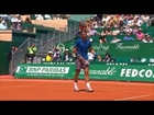 Nadal's Hot Shot Against Seppi At The Net In Monte Carlo