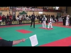 Gym Fist and Kick-IKO Kyokushinkai Karate IKO Galizia Cup 2014 Viertelfinale 12-13J -45kg Emir