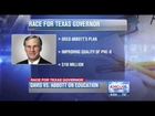 Davis, Abbott continue to battle over education plans