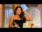 Gina Rodriguez wins for Best Actress in a TV Comedy | Golden Globe 2015