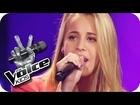 Nadine - Walking On Sunshine | The Voice Kids 2014 Germany | Blind Audition
