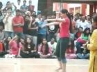 Indian College Girls Dancing