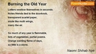 Naomi Shihab Nye - Burning the Old Year