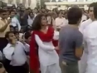 pakistani cute college girls dance with boys