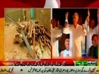 Pervaiz khattak CM KP busy in Azadi March, Peshawar rain kills 16 people