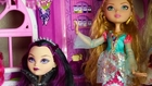 Ever After High HUNTER AND DEUCE CAMPING Monster High Parody Ashlynn's World S1 E5 KID FRIENDLY