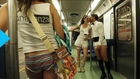 New Yorkers Bare it All (in 30-degree Weather) for No Pants Subway Ride