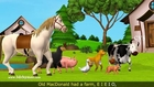 Old MacDonald Had A Farm - 3D Animation English Nursery Rhymes & Songs for children (HD)