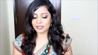 Red and Green Eye Makeup For Teej   Makeup Tips for Indian   Pakistani   Arabic Festivals