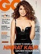 Nimrat Kaur Hot Cleavage Show In GQ Photoshoot 2015 - The Bollywood