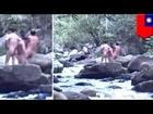 「自然を抱きしめたいだけ」台湾で全裸キャンプ