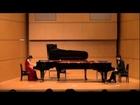 第18回国際ピアノデュオコンクール演奏部門(審査員特別賞、カワイ賞片山組自由曲)The 18th International Piano Duo Competition 2013